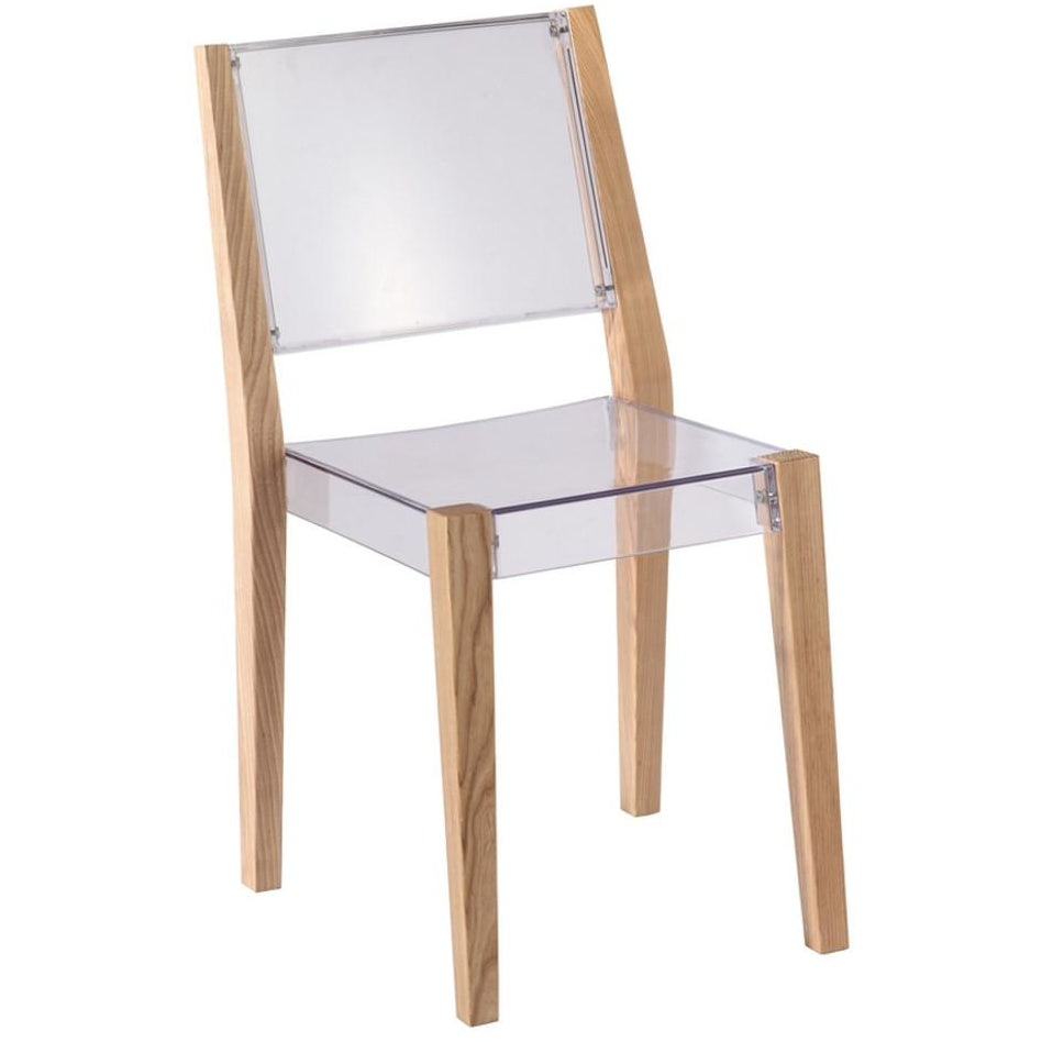 Finemod Imports Modern Lhosta Dining Side Chair FMI10094-natural-Minimal & Modern