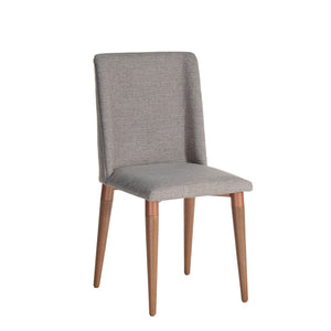 Manhattan Comfort Tampa Dining Chair with Back Handle Design  in Grey Manhattan Comfort-Dining Chair- - 1