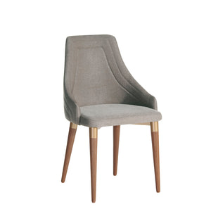 Manhattan Comfort Utopia 2.0 Dining Armchair in Grey Manhattan Comfort-Dining Chair- - 1