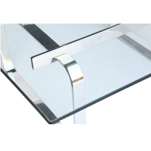 Finemod Imports Modern Hans Coffee Table FMI10198-glass-Minimal & Modern