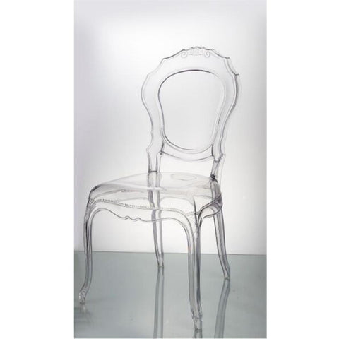 Finemod Imports Modern Traditional Dining Chair Clear, Dining Chairs - Finemod Imports, Minimal & Modern - 1