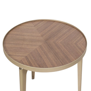 Revel Round End Table by New Pacific Direct - 1030009