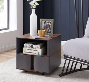 Marcus Storage End Table by New Pacific Direct - 1030022