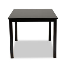 Baxton Studio Eveline Modern and Contemporary Espresso Brown Finished Rectangular Wood Dining Table
