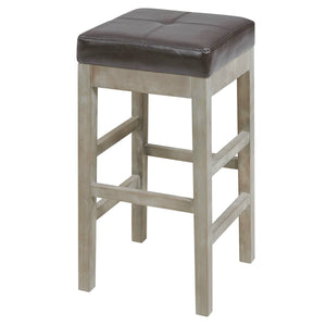 Valencia Bonded Leather Backless Counter Stool by New Pacific Direct - 108627B