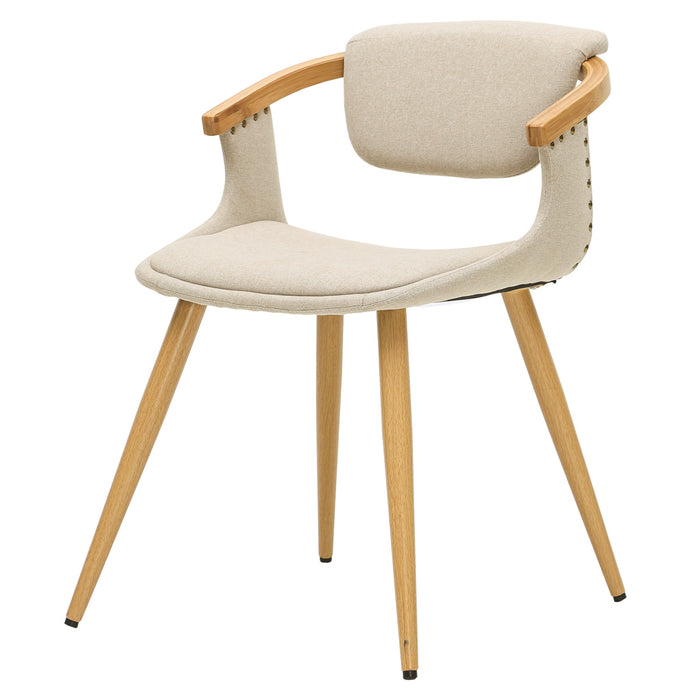 Darwin Fabric Bamboo Chair by New Pacific Direct - 1160001