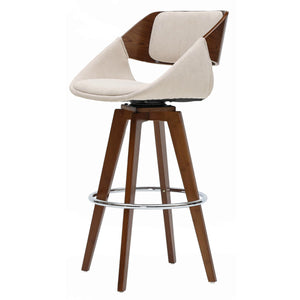 Cyprus Fabric Counter Stool by New Pacific Direct - 1160025