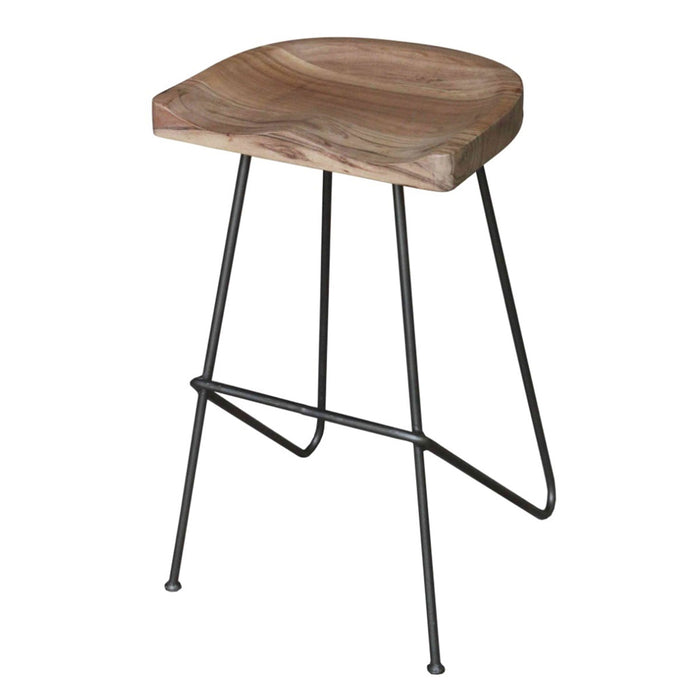 Bass Backless Counter Stool by New Pacific Direct - 1280015