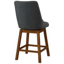 Annette Fabric Swivel Bar Stool - Set of 2 by New Pacific Direct - 1310005-384