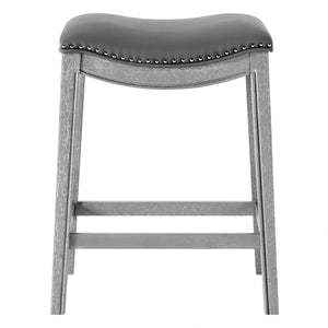 Grover PU Leather Counter Stool by New Pacific Direct - 1330001-385