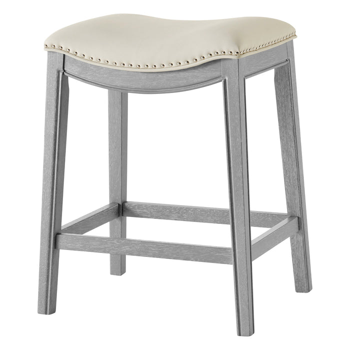 Grover PU Leather Counter Stool by New Pacific Direct - 1330001-386