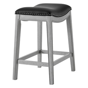 Grover PU Leather Counter Stool by New Pacific Direct - 1330001-387