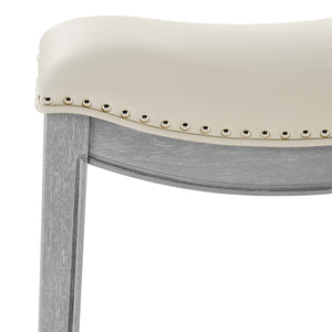 Grover PU Leather Bar Stool by New Pacific Direct - 1330003-386