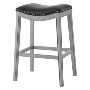 Grover PU Leather Bar Stool by New Pacific Direct - 1330003-387