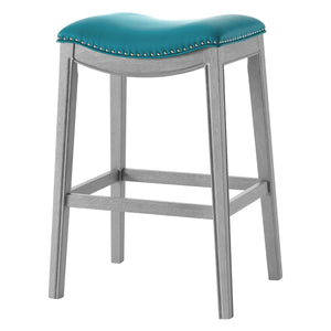 Grover PU Leather Bar Stool by New Pacific Direct - 1330003-388
