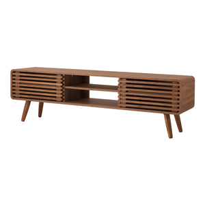 "Wilson 58"" Slat Low TV Stand by New Pacific Direct - 1340004"