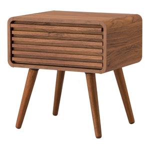 Wilson Slat Side Table by New Pacific Direct - 1340006