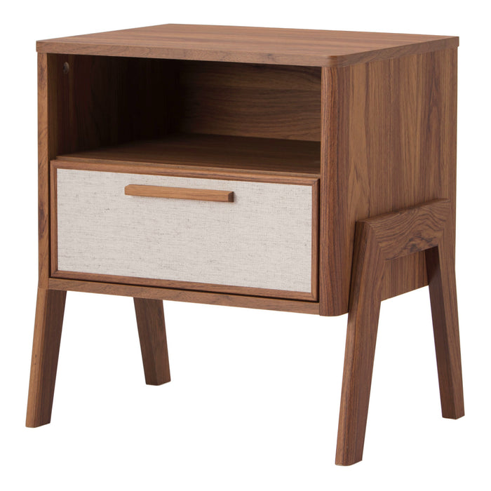 Heaton Side Table 1 Drawer by New Pacific Direct - 1340010