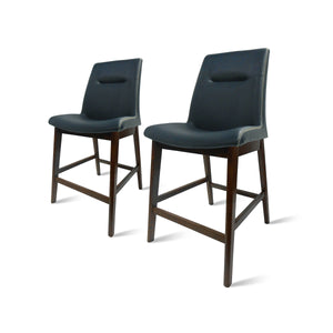Archie PU Leather Counter Stool - Set of 2 by New Pacific Direct - 1380002-403