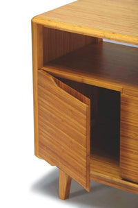 Greenington Currant Modern Bamboo Media Cabinet Unit-Minimal & Modern