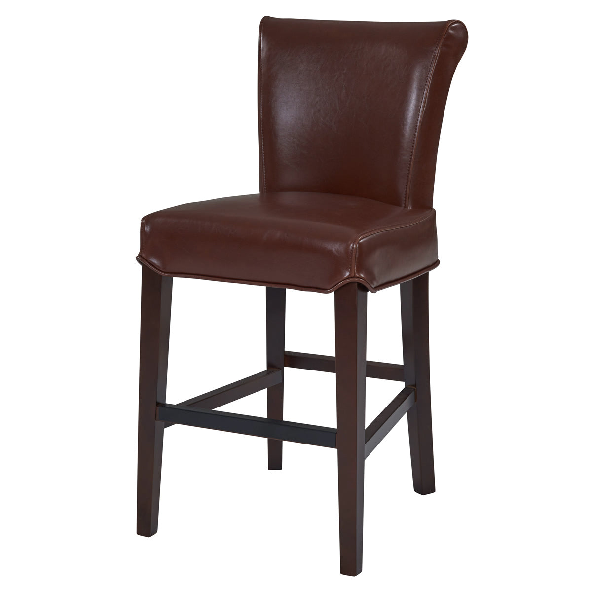 Bentley Bicast Leather Bar Stool by New Pacific Direct - 1485