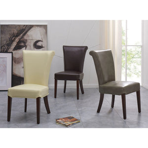 Bentley Bicast Leather Chair - Set of 2 by New Pacific Direct - 148A