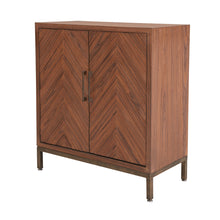 Gianni Chevron Cabinet by New Pacific Direct - 1500021