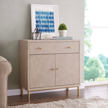 Ricci Rafia 1-Drawer Cabinet by New Pacific Direct - 1500022