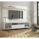 Manhattan Comfort Cabrini 2.2 TV Stand and Panel White Gloss, TV Stands - Manhattan Comfort, Minimal & Modern - 2