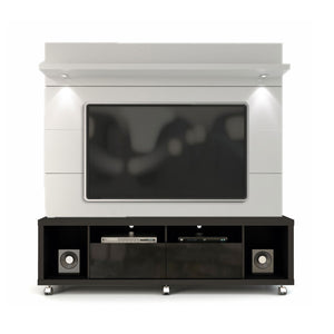 Manhattan Comfort Cabrini 1.8 TV Stand and Panel Black + White Gloss, TV Stands - Manhattan Comfort, Minimal & Modern - 4