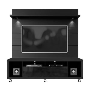 Manhattan Comfort Cabrini 1.8 TV Stand and Panel Black, TV Stands - Manhattan Comfort, Minimal & Modern - 5