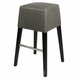 Aubin Bonded Leather Bar Stool by New Pacific Direct - 1900031