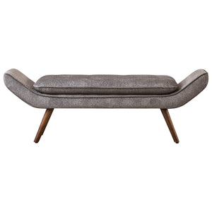 Newcastle Fabric Tufted Bench by New Pacific Direct - 1900112