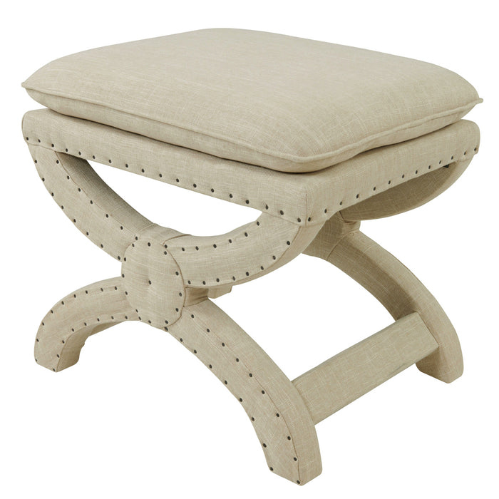 Madeline Nailhead Bench by New Pacific Direct - 193039