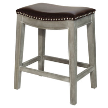 Elmo Bonded Leather Counter Stool by New Pacific Direct - 198625B