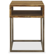 Greenington Modern Bamboo Toronto Solid Exotic Tiger Bamboo End table G0059T-Minimal & Modern