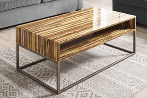 Greenington Modern Bamboo Toronto Solid Exotic Tiger Bamboo Coffee table G0058T-Minimal & Modern