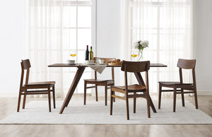 "Greenington Modern Bamboo Zenith 72"" Dining Table in Exotic Caramelized GN001E-Minimal & Modern"