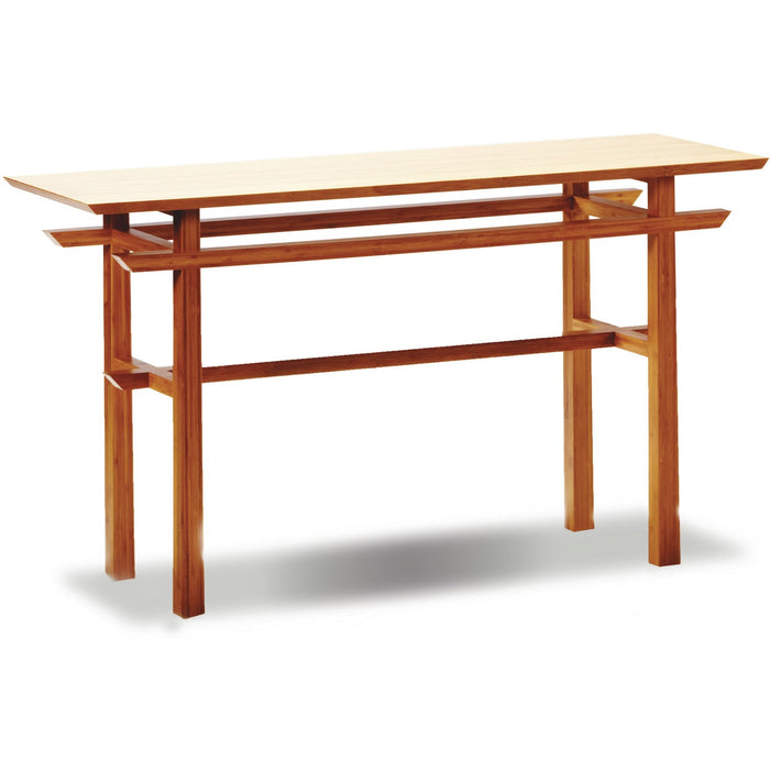 Greenington Modern Bamboo Lotus Console Table GT0605-Minimal & Modern