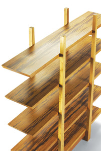 Greenington Modern Sustainable Bamboo Magnolia Shelf G0013E
