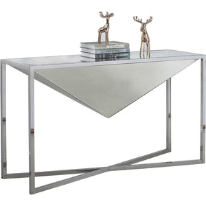 Meridian Furniture Krystal Console Table-Minimal & Modern