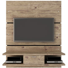 Manhattan Comfort Ellington 2.0 2- Shelf Entertainment Center Nature / Pro-Touch, TV Stands - Manhattan Comfort, Minimal & Modern - 1
