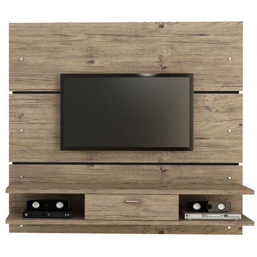 Manhattan Comfort Ellington 1.0 2- Shelf Entertainment Center Nature, TV Stands - Manhattan Comfort, Minimal & Modern - 1