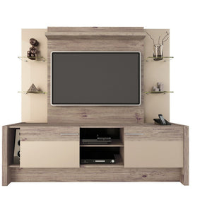 Manhattan Comfort Morning Side Freestanding Theater Entertainment Center-Minimal & Modern