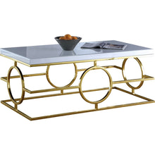 Meridian Furniture Brooke Gold Coffee table-Minimal & Modern