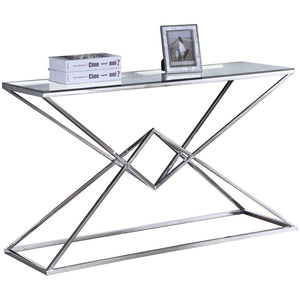 Meridian Furniture Vanessa Console Table-Minimal & Modern