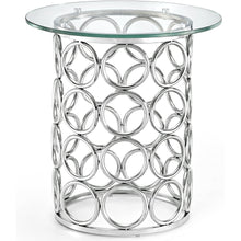 Meridian Furniture Opal Chrome End Table-Minimal & Modern