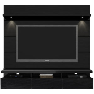 Manhattan Comfort Cabrini 1.8 Theater Entertainment Center Panel Black, TV Stands - Manhattan Comfort, Minimal & Modern - 1