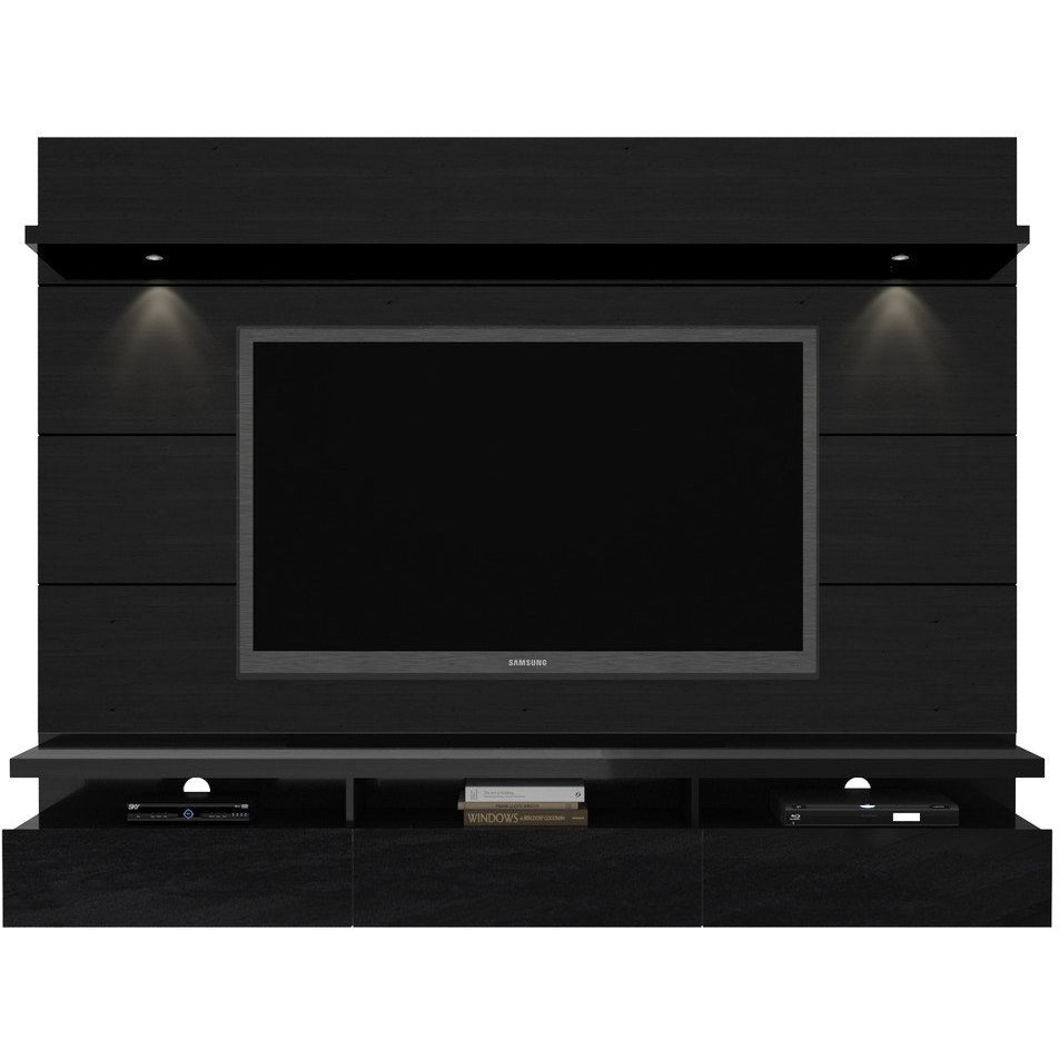 Manhattan Comfort Cabrini 2 2 Theater Entertainment Center Panel Minimal Modern