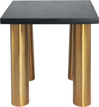 Meridian Furniture Piper Brushed Gold End TableMeridian Furniture - End Table - Minimal And Modern - 1